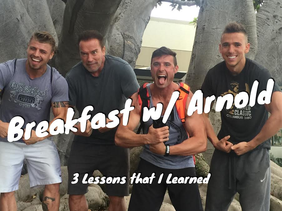 Breakfast with Arnold