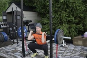 Front Squat w_ Bands 7