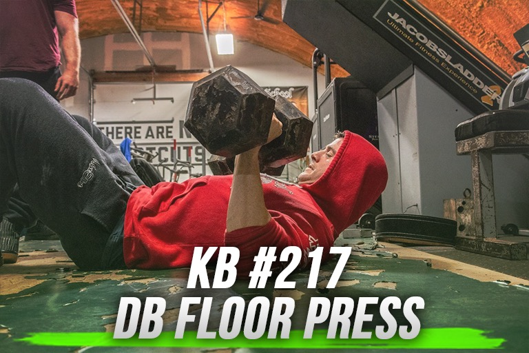 EP.217 | DB FLOOR PRESS | KNOWLEDGE